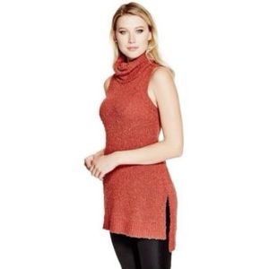 GUESS Knit Sleeveless Tunic